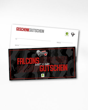 GUTSCHEIN – 25€