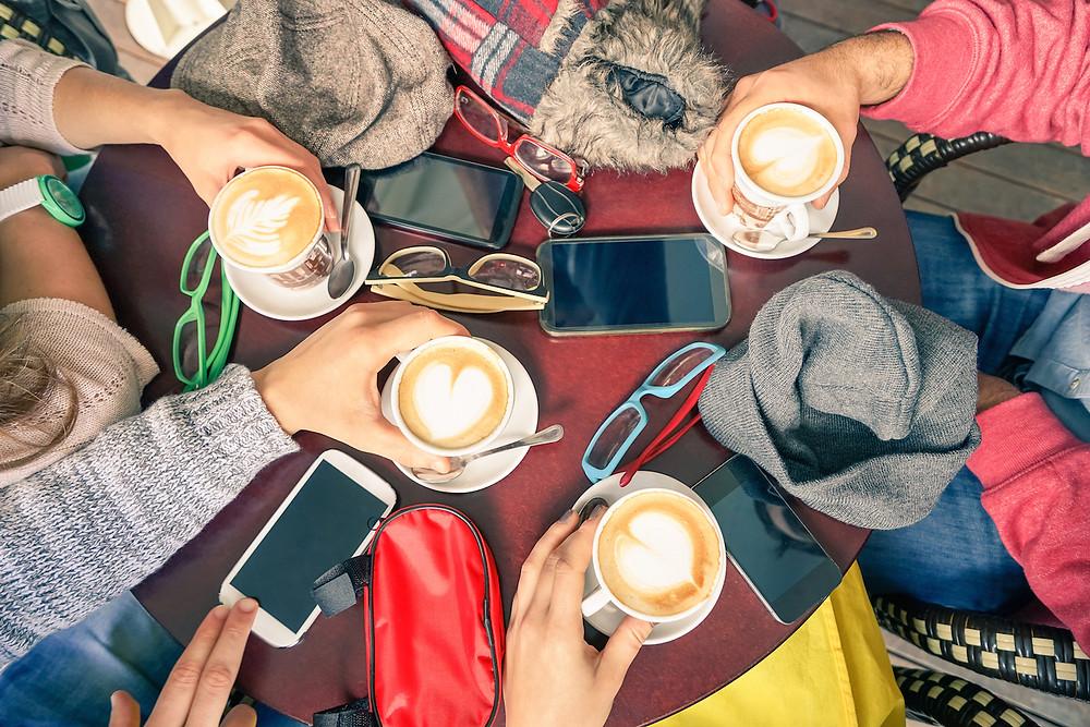 Café e Inglês