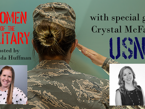 Women of the Military podcast: such a great convo with Amanda Huffman.