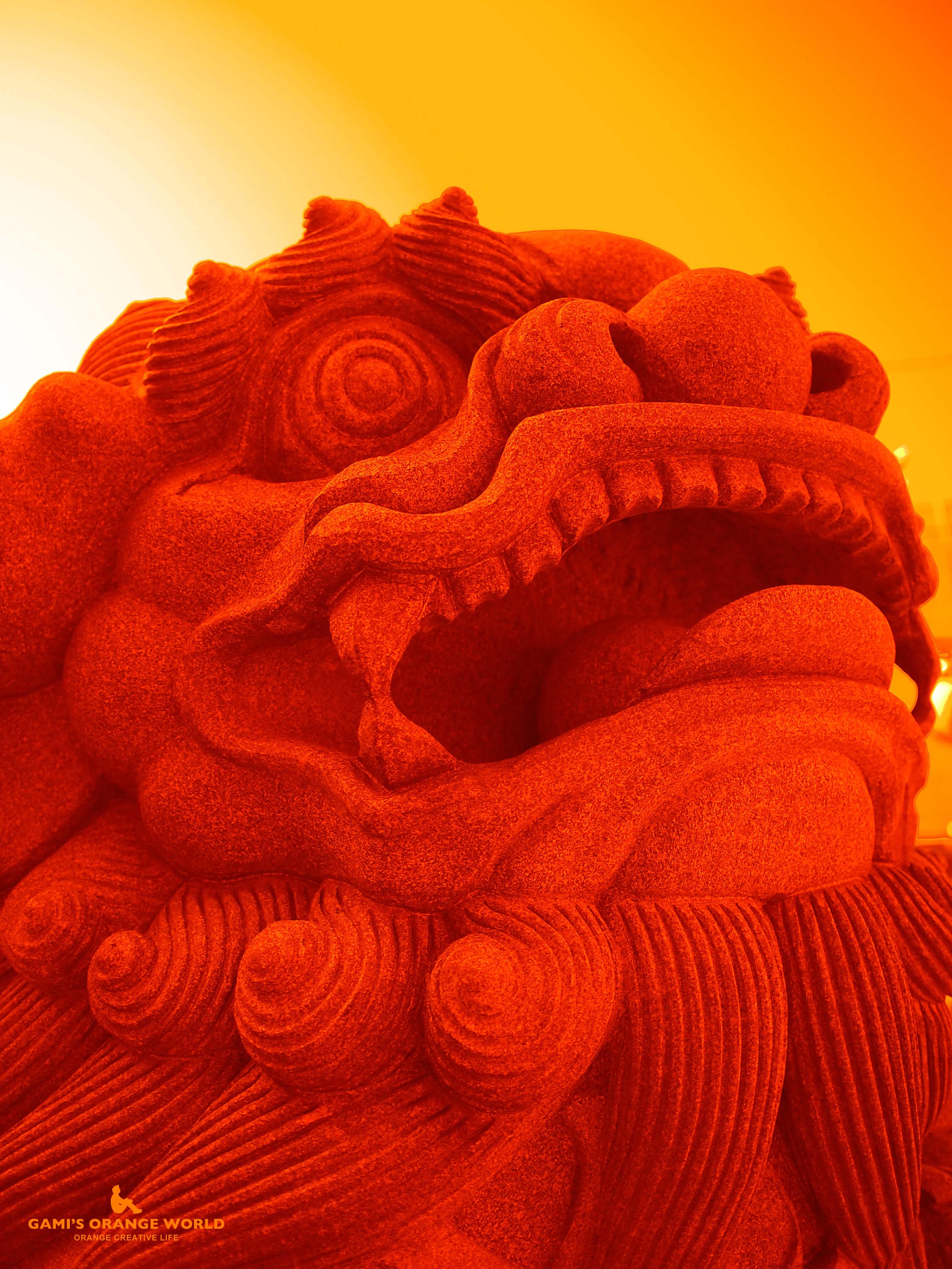 0388横浜媽祖廟(天后宮)の狛犬 のコピー