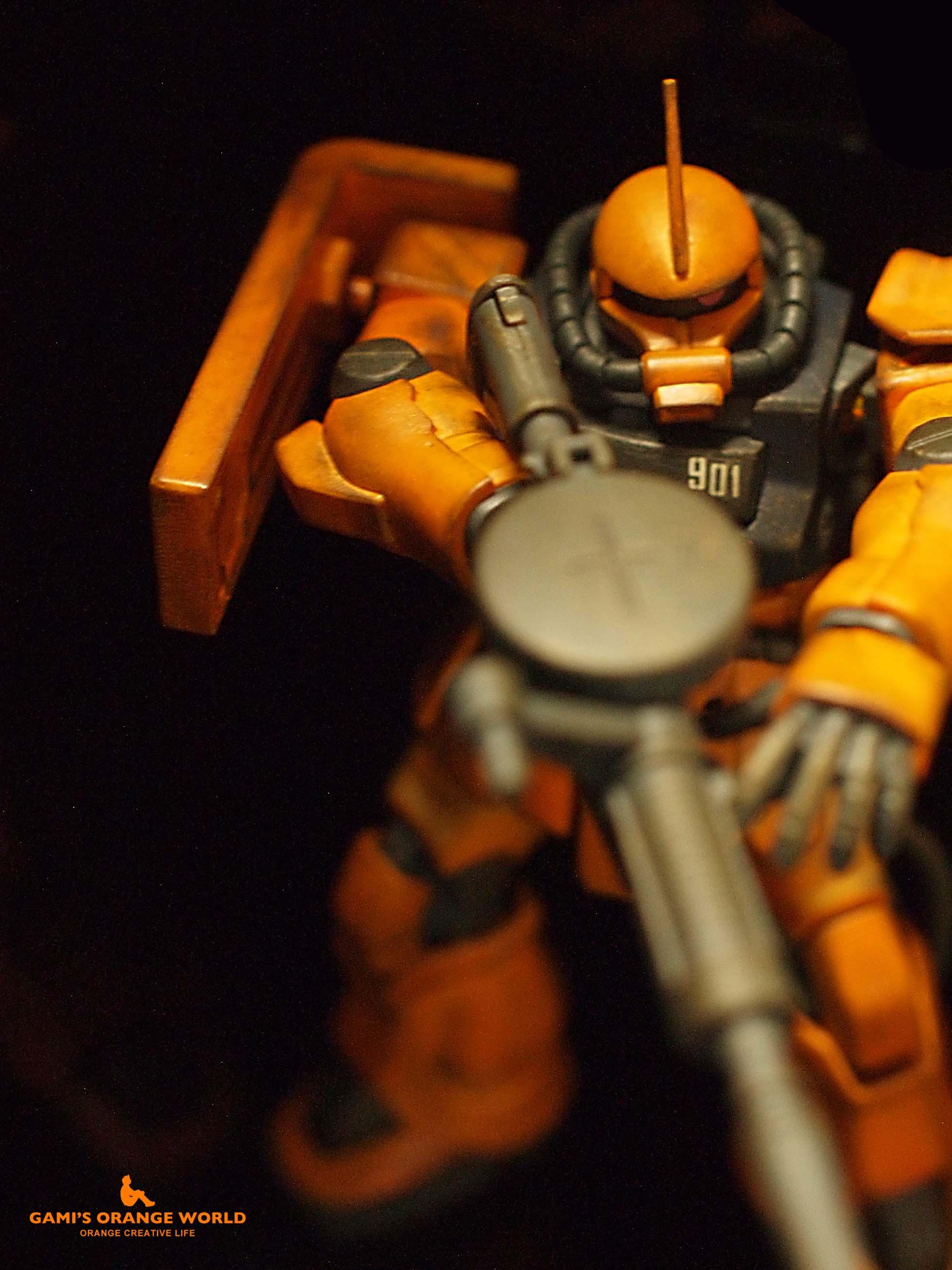 0256オレンジのザク11 のコピー