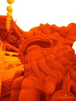 0388横浜媽祖廟(天后宮)の狛犬2 のコピー
