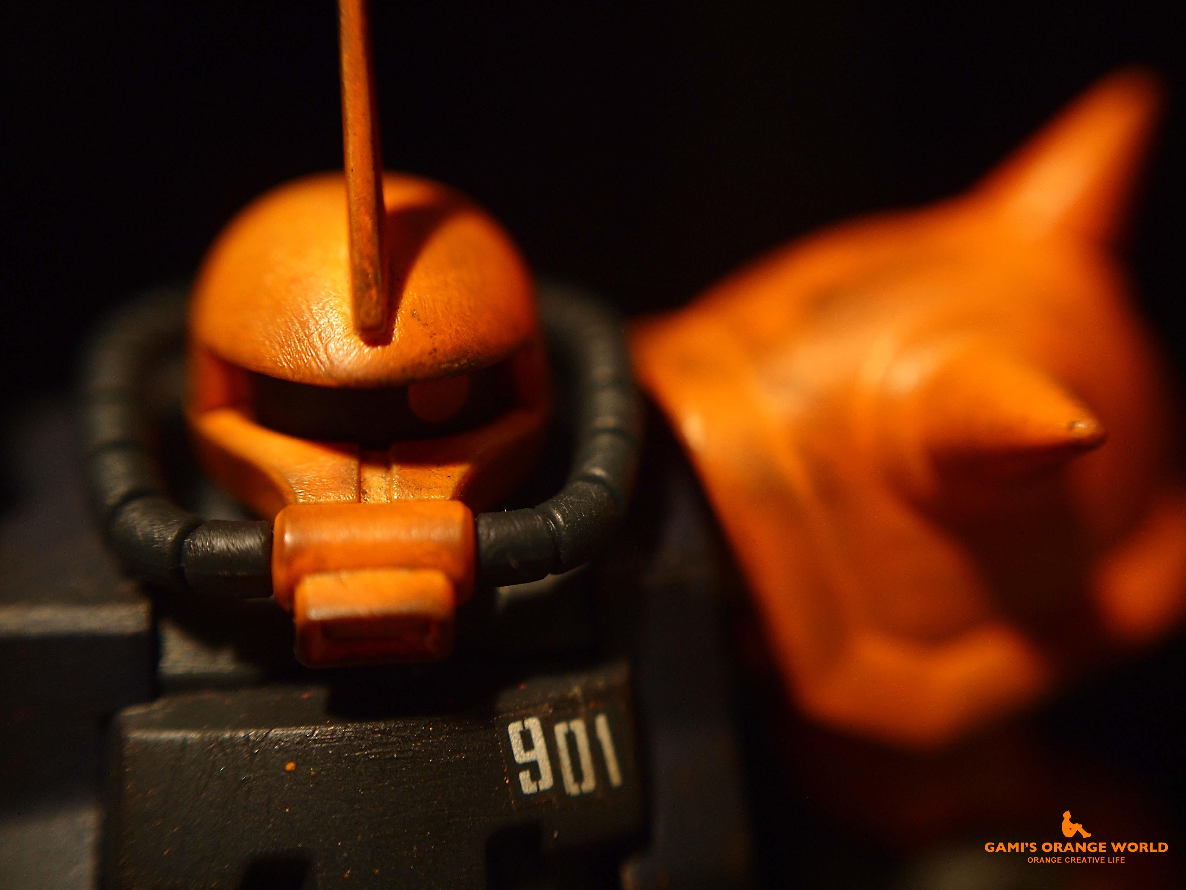 0425オレンジのザク2 のコピー