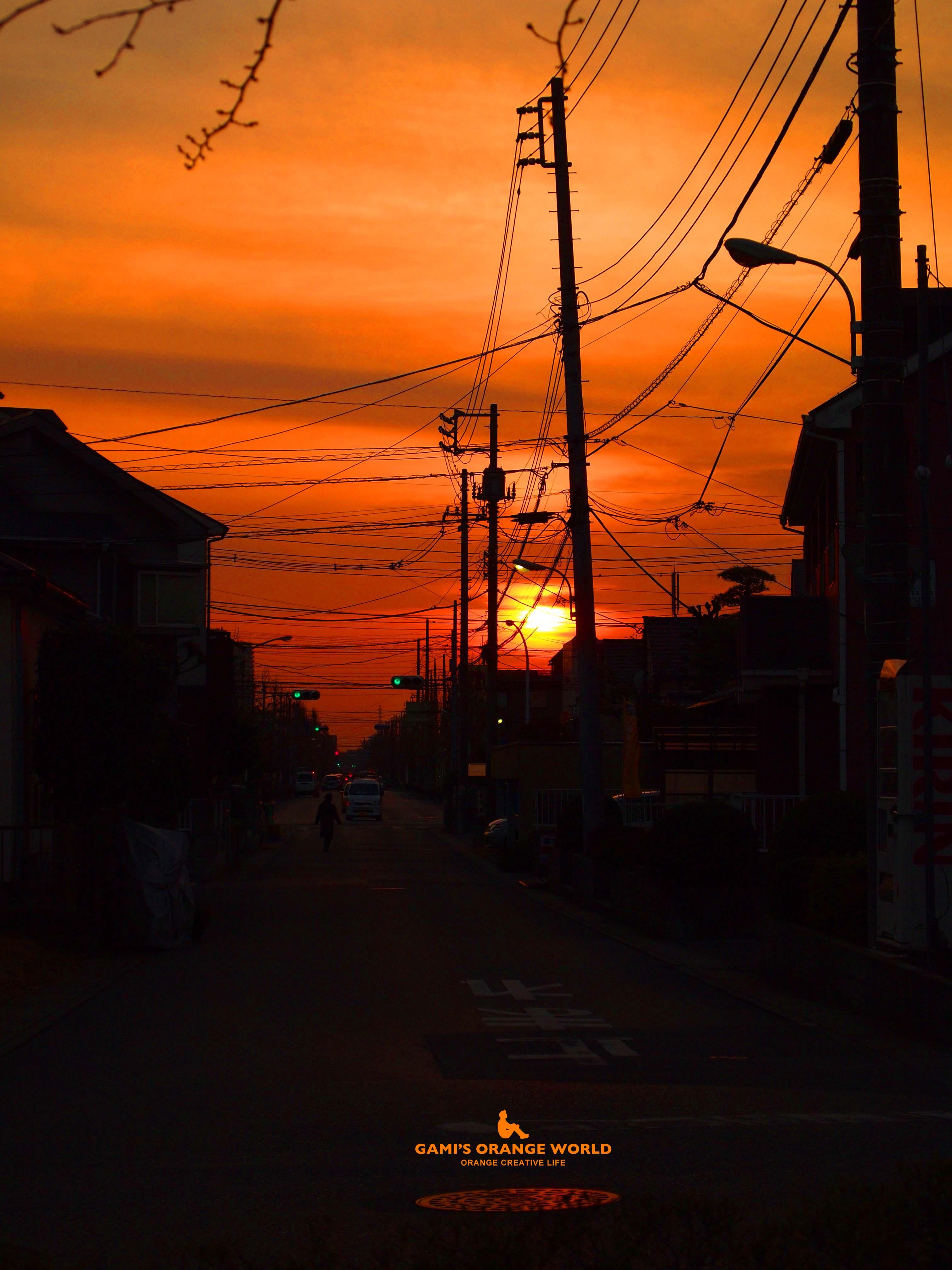 0224近所の夕焼け のコピー