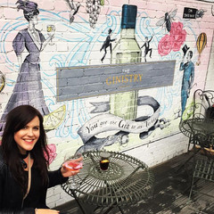 Gin Bar Mural. The Ginistry Oxted