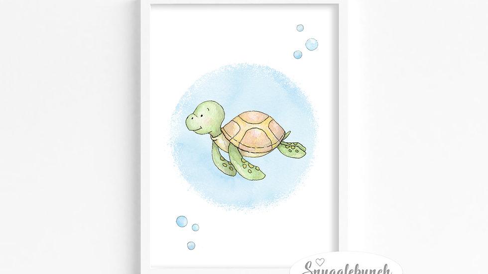 Turtle 'Ocean Friends' Print