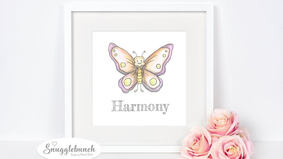 Harmony Butterfly Print