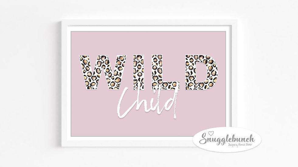 'Wild Child' Landscape Print