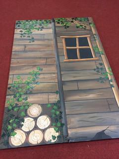 Wooden Hut Theatre Flat