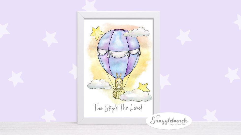 Cute Balloon Print