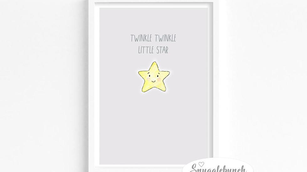 Twinkle Star Print