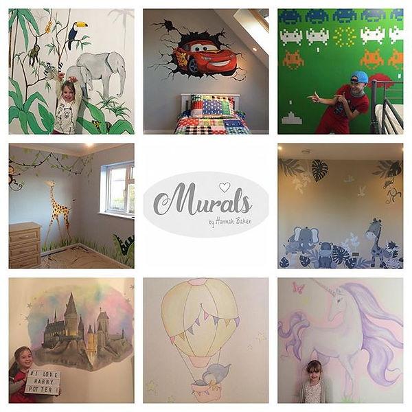 Children's Bedroom Murals and Wall Art UK