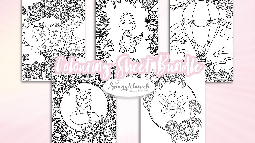 Colouring Sheet Bundle (Digital Download)