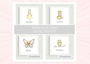 Personalised Name Prints