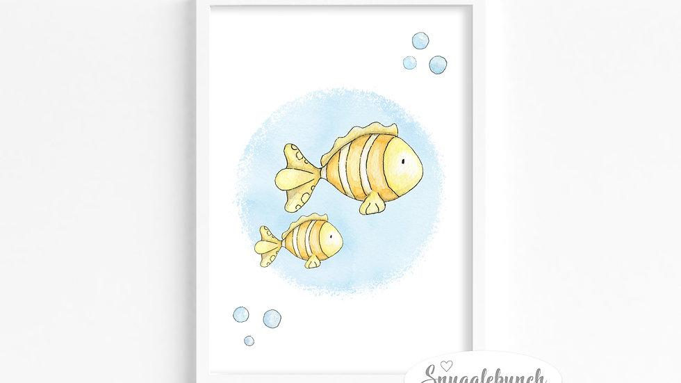 Fish 'Ocean Friends' Print