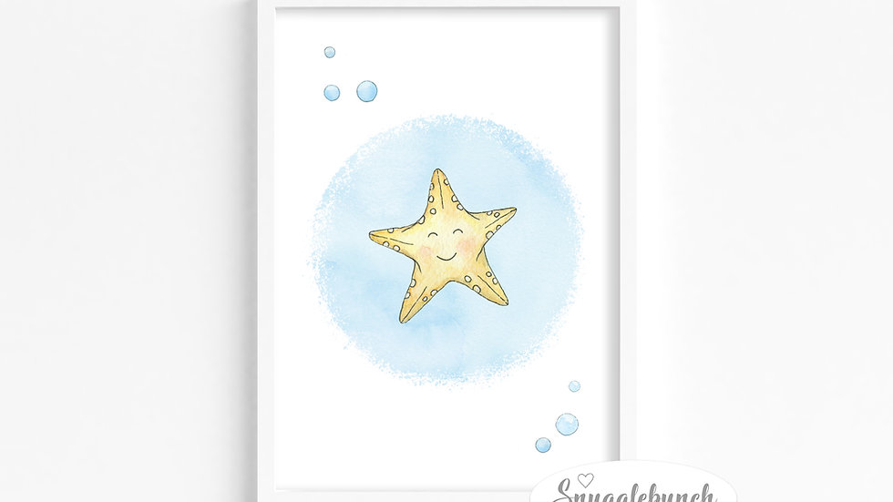 Starfish 'Ocean Friends' Print