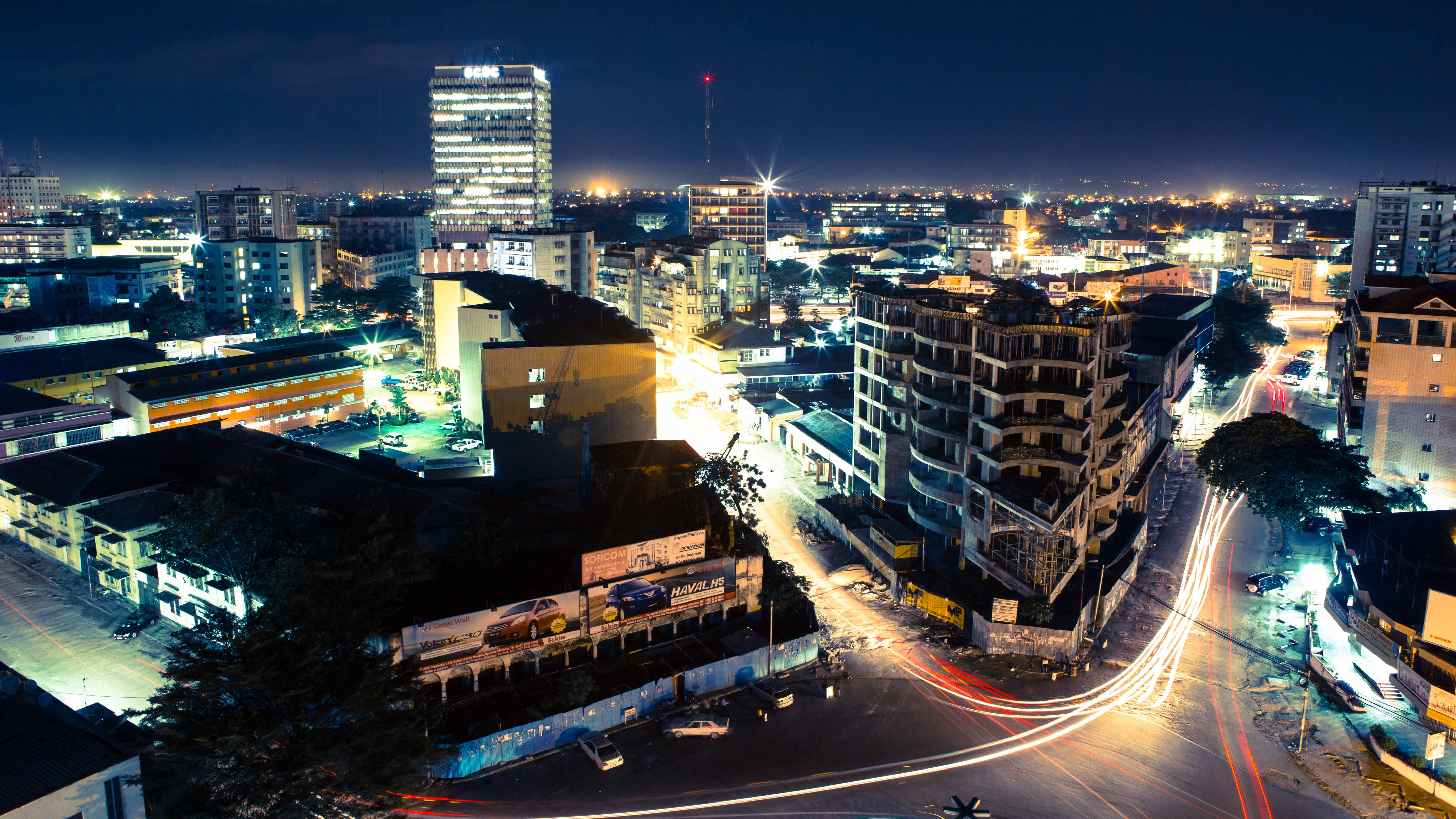 Kinshasa by night