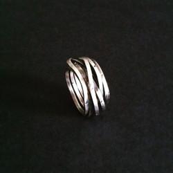 Round & Round Silver Ring