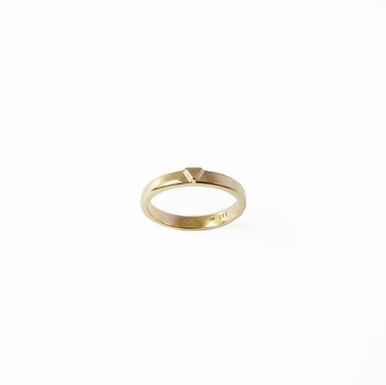 """Trio Minimal"" Engagement Ring"