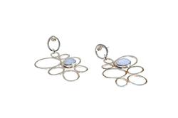 Chalcedony Wings Earrings