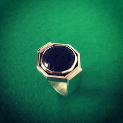 Lava Signet Ring