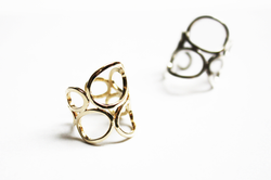 Gold Fold Ring