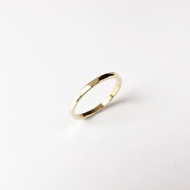 """Diamond Cut"" Engagement Ring"