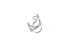 Silver Fold Ring