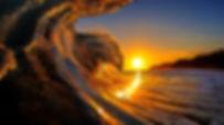 Hawaii-Ocean-Sea-Waves-Sunset-Wallpaper.