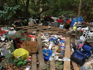 Homeowners Hit With $20,000 Bill to Clean Up Homeless Camp