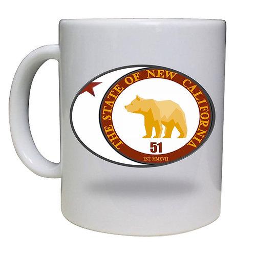 Star Gazing Bear Cup