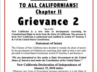 GRIEVANCE 2, CHAPTER 2
