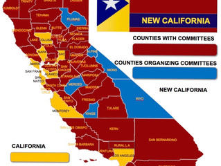 New California State Grows Again....44 Counties