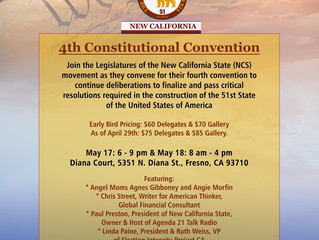 4th Constitutional Convention for New California State