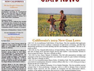 New California State Newsletter