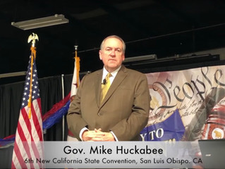Mike Huckabee at 6th Constitutional Convention