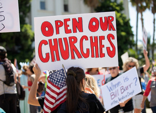 U.S. Department of Justice Gives Gov. Newsom Stern Warning Over Church Closings