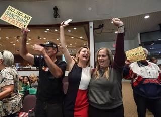 Opposition to immigrant sanctuary spreading in California