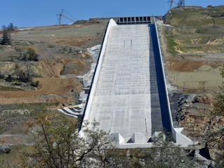 Complete failure at Oroville Dam
