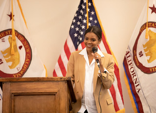 Why was Candace Owens a Speaker at the 7th New California State Constitutional Convention?