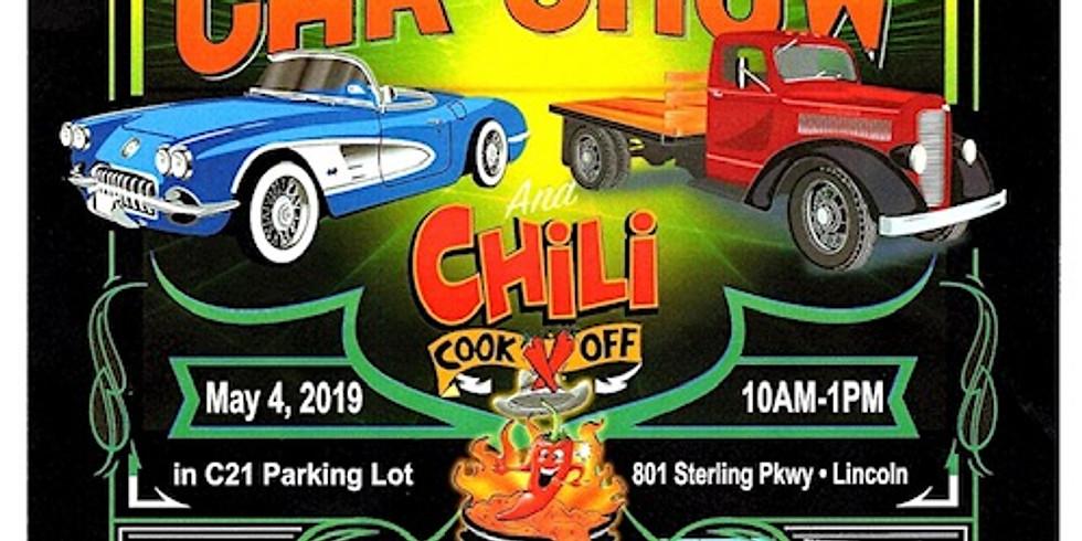 9th Annual Car Show & Chili Cook Off, Lincoln, CA