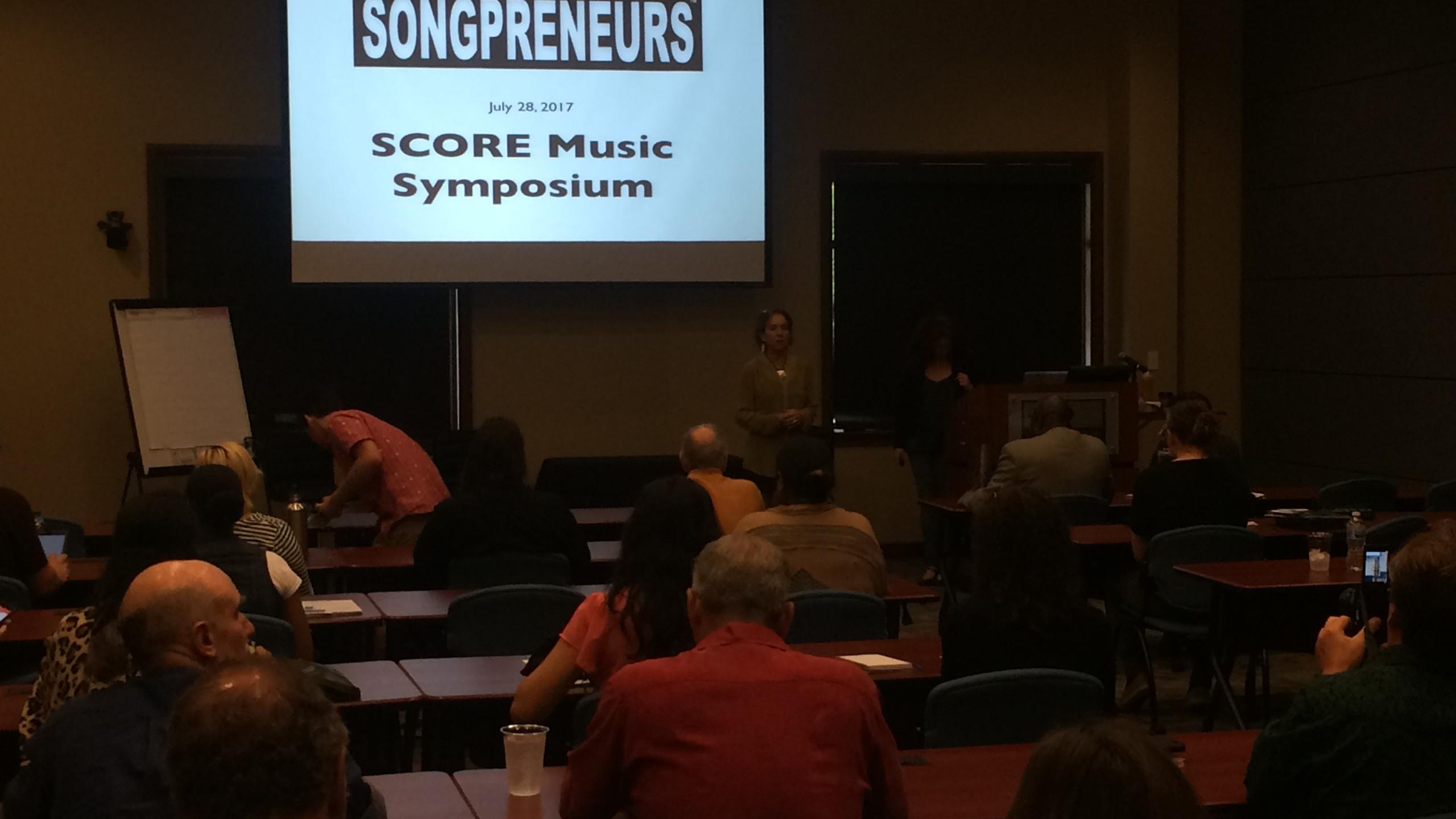 SCORE Music Symposium 2017