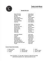 Taylor Lewis Sample Set List.jpg