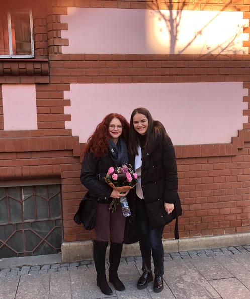 Denisa and Amanda