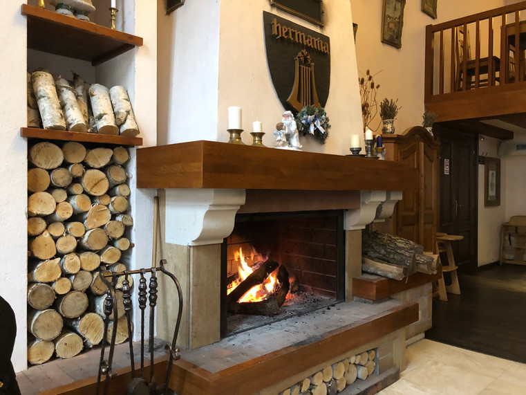 Wood fire hearth Hermania Sibiu