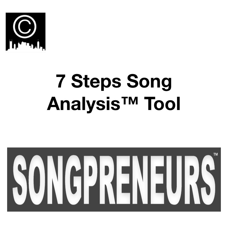 7 Steps Song Analysis Tool Songpreneurs