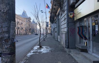 Streets of Bucharest Romania
