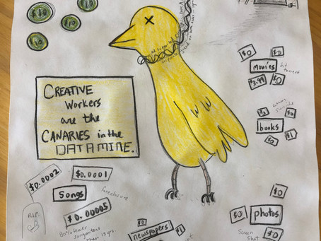 Songwriters Are Canaries in the Data Mine