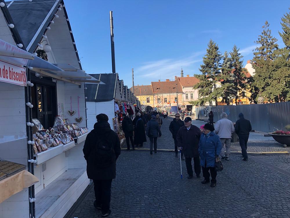 Christmas Market Cluj Napoca Romania