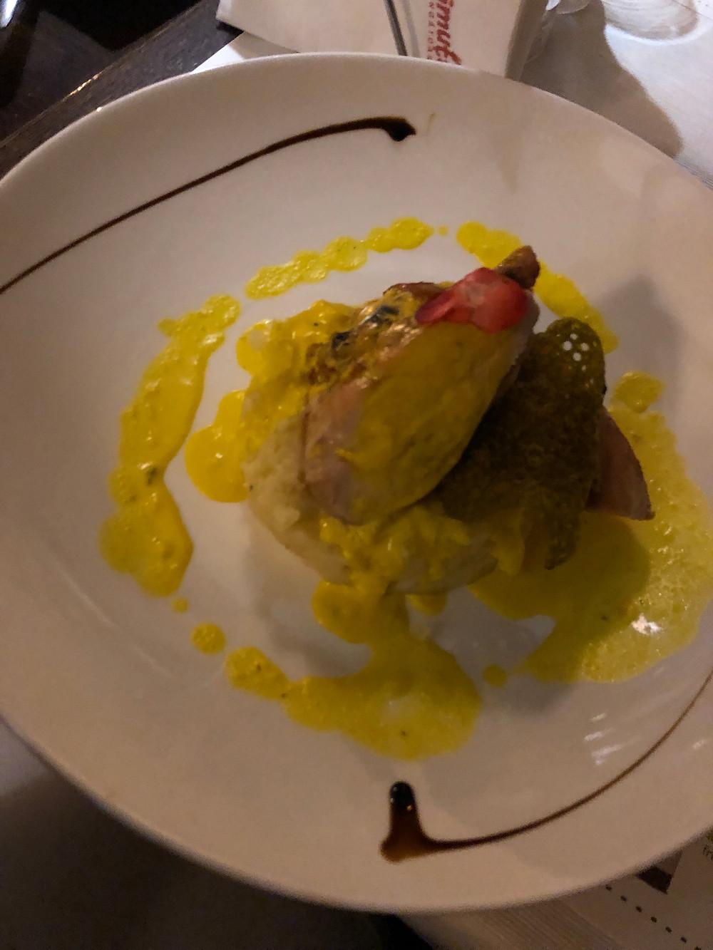 Saffron chicken Crying Monkey Cluj Napoca Romania Restaurant